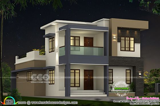 ₹33 lakhs cost estimated modern house