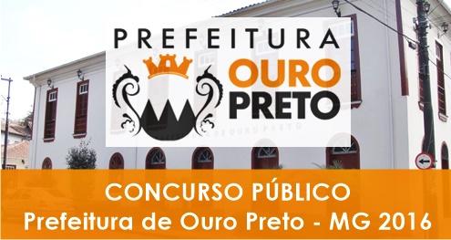 Apostila Concurso Prefeitura de Ouro Preto 2016