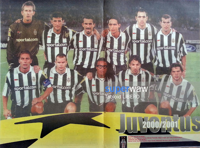 Juventus UEFA Champions League 2000/2001
