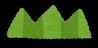 シンプルな草のイラスト5
