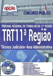 Apostila TRT11 2017 Técnico Judiciário