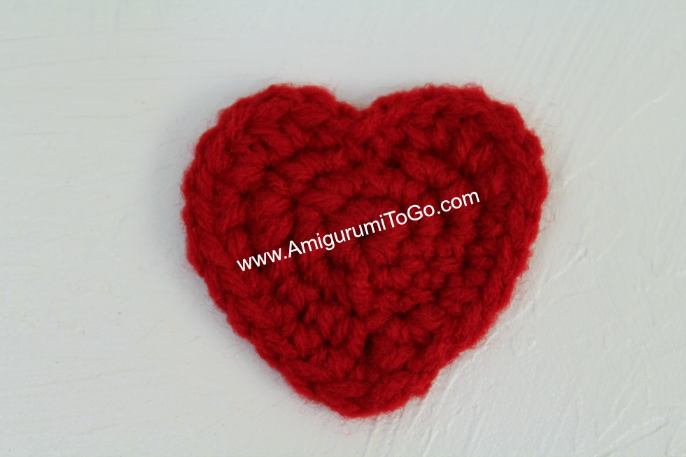 Everyday Heart ~ Amigurumi To Go