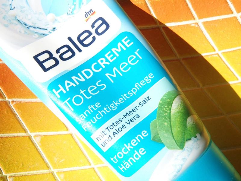 krem do rąk Balea, Balea handcreme, Balea sól morska i aloes