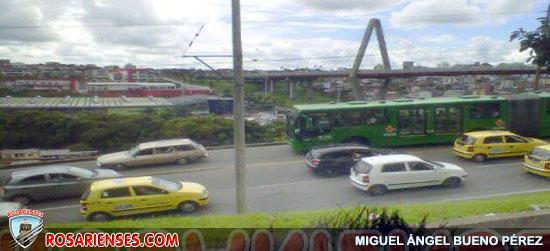 Manifestantes del Sena se tomaron el Viaducto | Rosarienses, Villa del Rosario