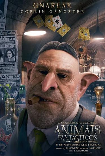 Banners dos personagens de 'Animais Fantásticos e Onde Habitam' são divulgados | Ordem da Fênix Brasileira