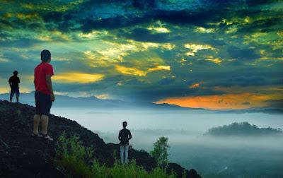 Sunrise Gunung Ireng