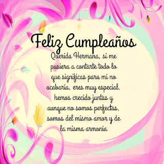 Feliz Cumpleaños Hermana10