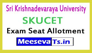 Sri Krishnadevaraya University SKUCET Seat Allotment Order