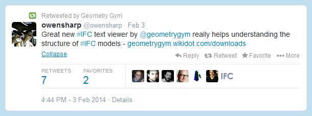 Revit Add-Ons: Free Geometry Gym IFC Text Tree Viewer