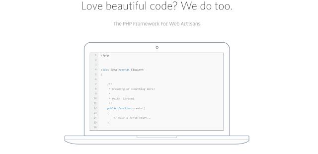 laravel framework php