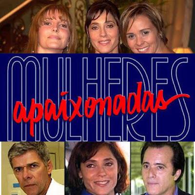 Top 10 - Novelas da Globo Mulheres Apaixonadas