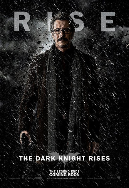 The Dark Knight Rises - Jim Gordon - Gary Oldman Movie Poster