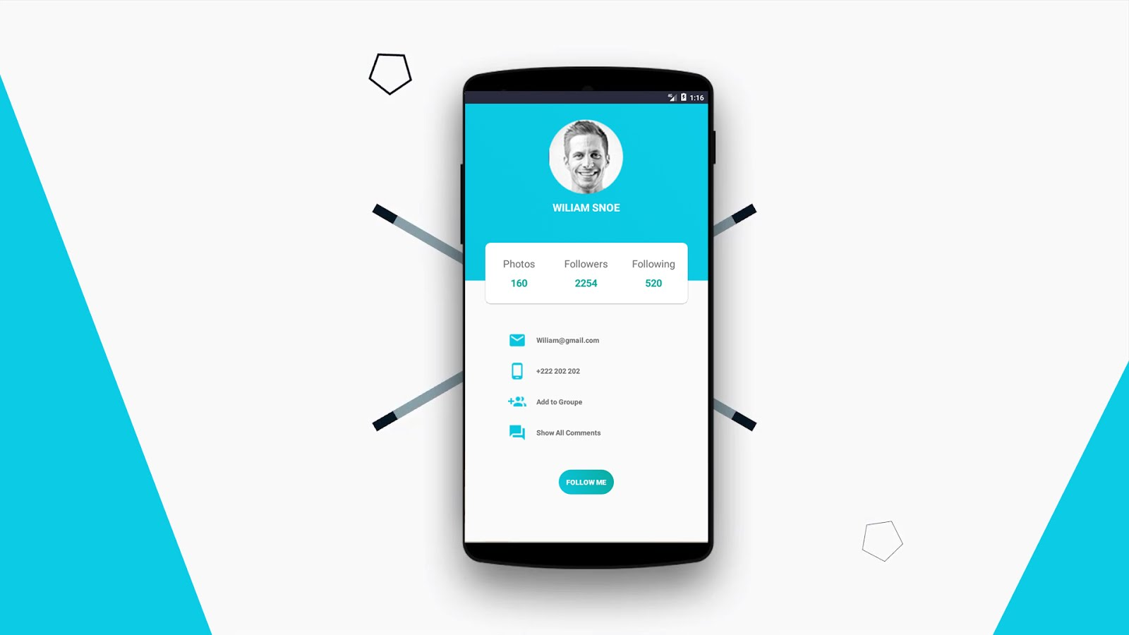 Homepage Design In Android Studio | Flisol Home