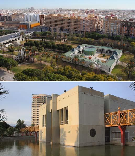 Urban networks el r o que se convirti en parque los jardines del turia en valencia - Casas del mediterraneo valencia ...
