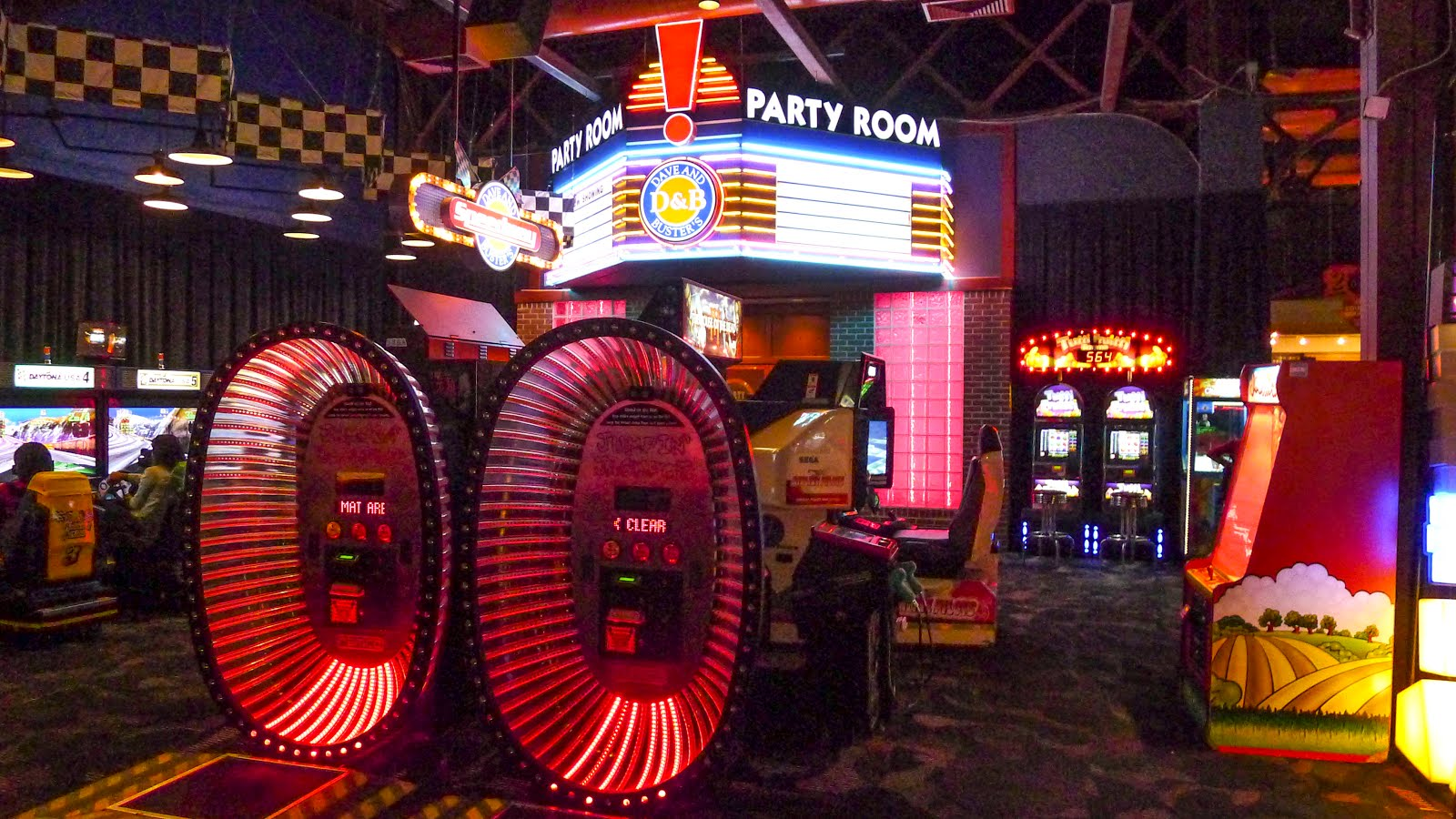 How much are games at dave n busters