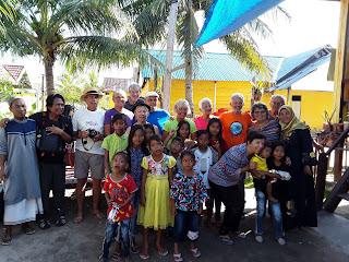 Group de Gisele ,Visit Papouasie, sulawesie et l'ile Labengki sombori