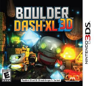 Boulder Dash-XL 3D, 3ds, Español, Mega