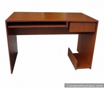 Bricolaje como hacer plano muebles melamina escritorio diy for Diseno de mesa de computadora