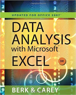 Data Analysis with Microsoft Excel by Kenneth N. Berk and Patrick Care