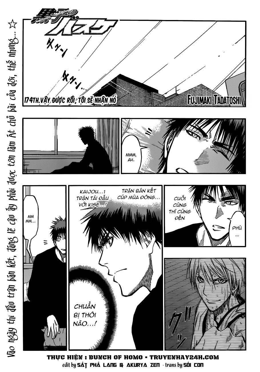 Kuroko No Basket chap 174 trang 1