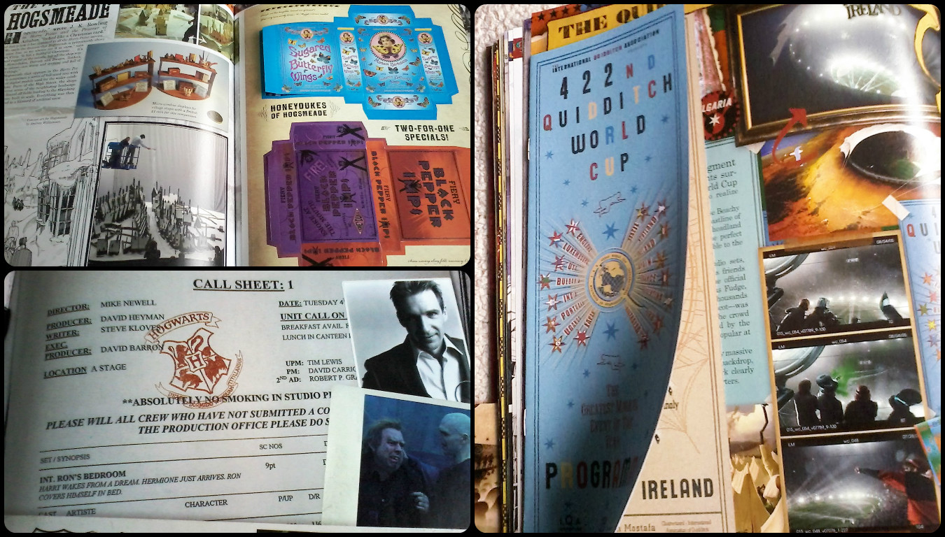 Libros Xd Once Upon A Book Foto Reseña I Harry Potter Film Wizardry