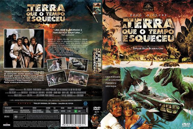 Capa DVD A Terra Que o Tempo Esqueceu