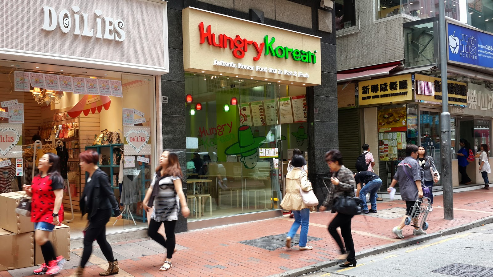 竹仔的天馬行空旅程: [銅鑼灣] Hungry Korean:快捷方便的一人韓食體驗