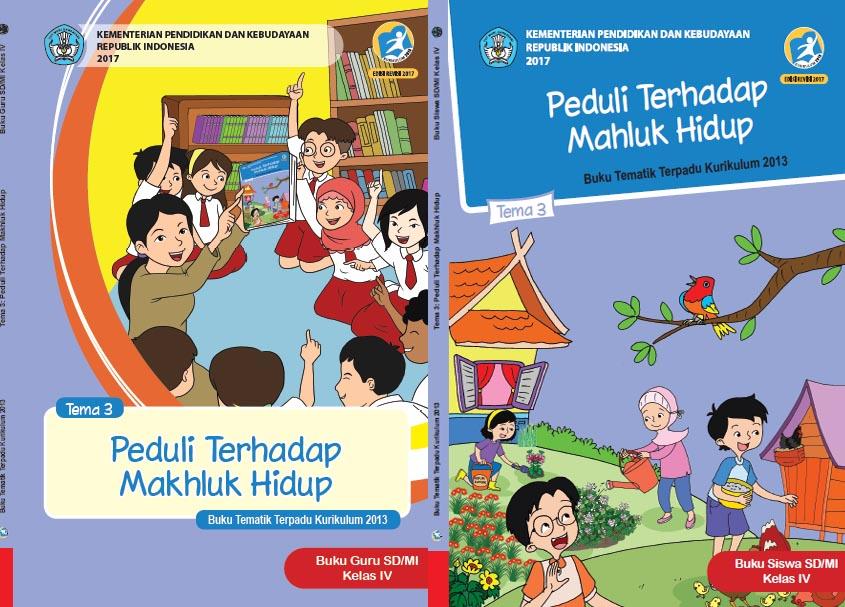 Buku Kurikulum 2013 Sd Mi Kelas 4 Tema 3 Edisi Revisi 2017 Untuk Guru Dan Siswa Dadang Jsn