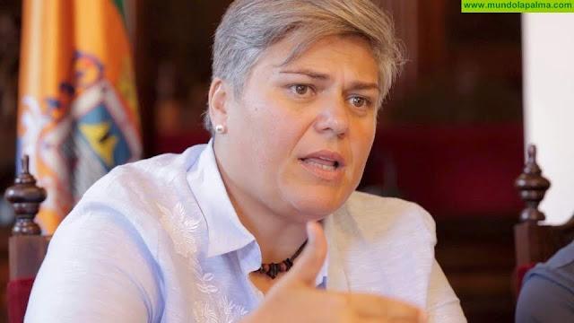 """Noelia García:  """"La Estación de Guaguas de Los Llanos es un ejemplo claro de como el Gobierno de Canarias y el Cabildo de La Palma ningunean a los aridanenses"""""""