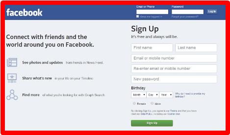 Facebook Login Create New Account | Facebook New Account Open