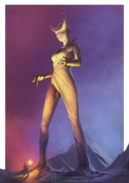 Oleg Bulakh deviantart artstation arte ilustrações ficção científica fantasia sombria mulheres