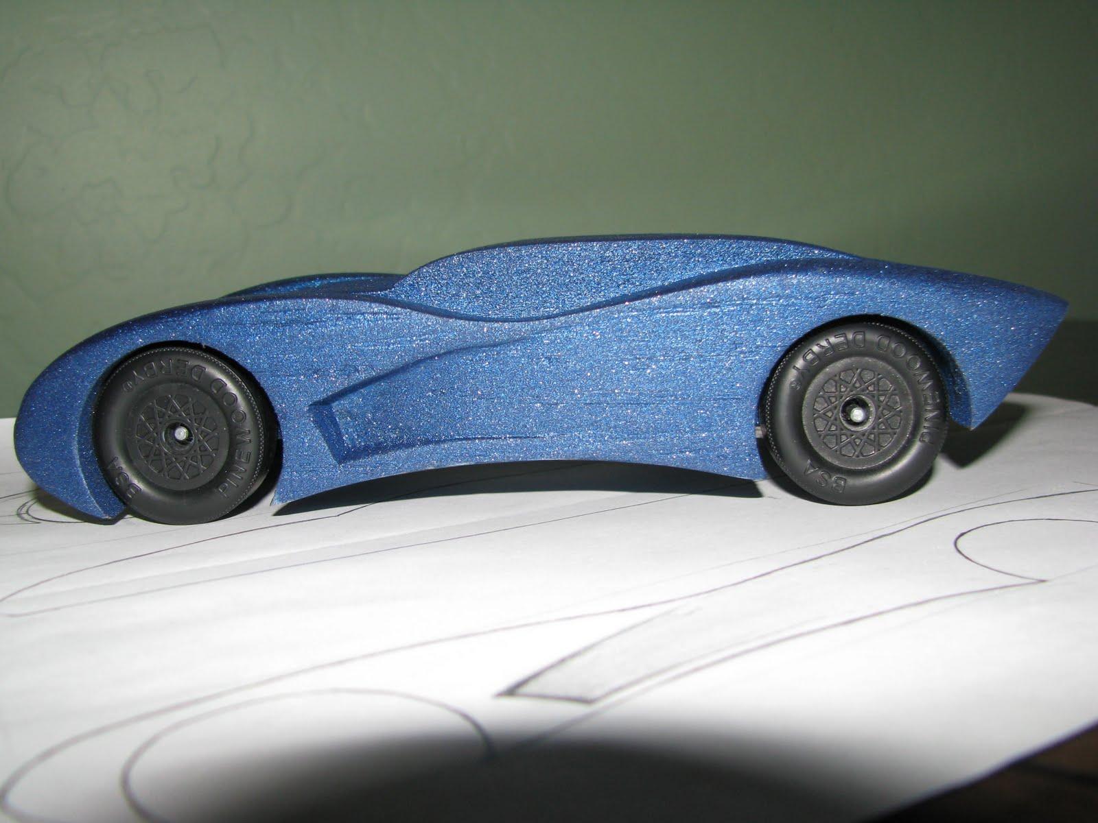 pinewood derby car designs