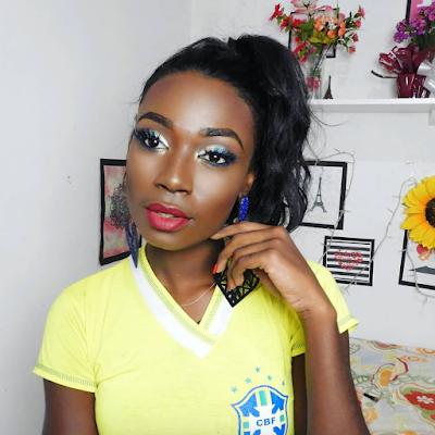 Maquiagem para a copa 2018 (pele negra): Leidi Rocha