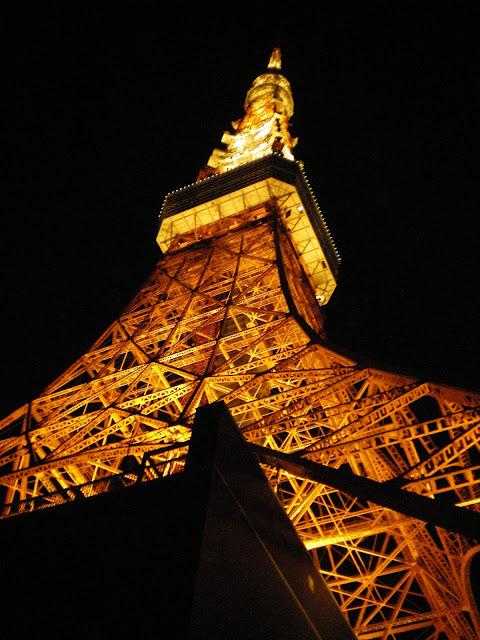 Torre de Tokio de noche
