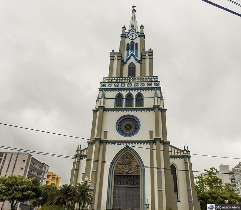 Igreja de Orleans - Diário de bordo - Encontro Rota Sul em Santa Catarina