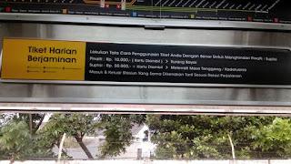 Biaya Denda Suplisi Pinalti Commuter Line Jabodetabek