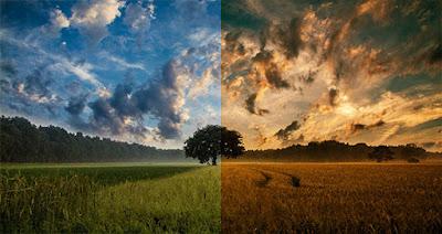 Cara membuat Efek Sunset Di GIMP