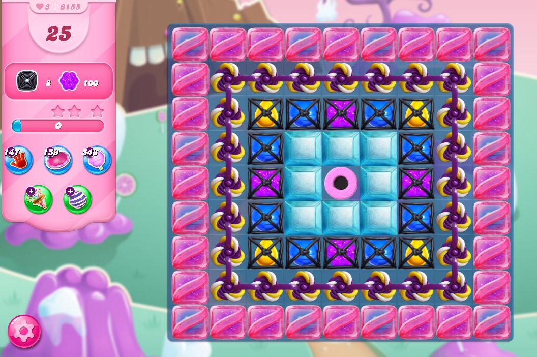 Candy Crush Saga level 6155
