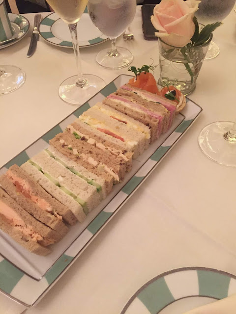Finger Sandwiches, Afternoon Tea, Claridge's, London