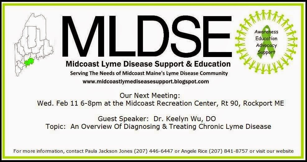 Midcoast Lyme Disease Support and Education: February 2015