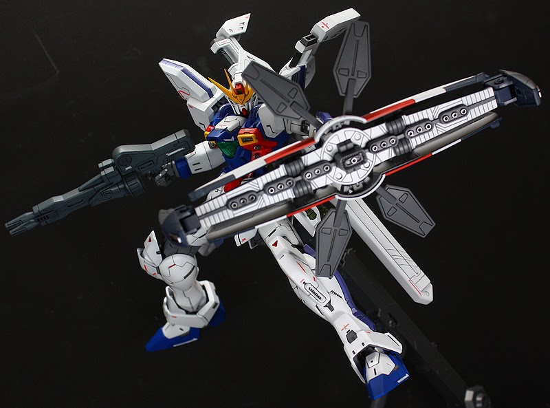 "Custom Build: MG 1/100 Gundam X Divider ""conversion"""