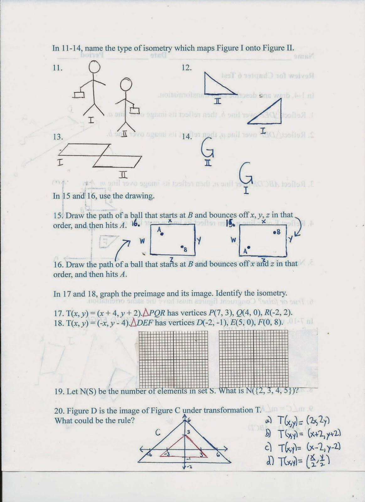 Geometry Common Core Style November