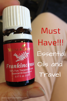Essential oils for travel that you must have!