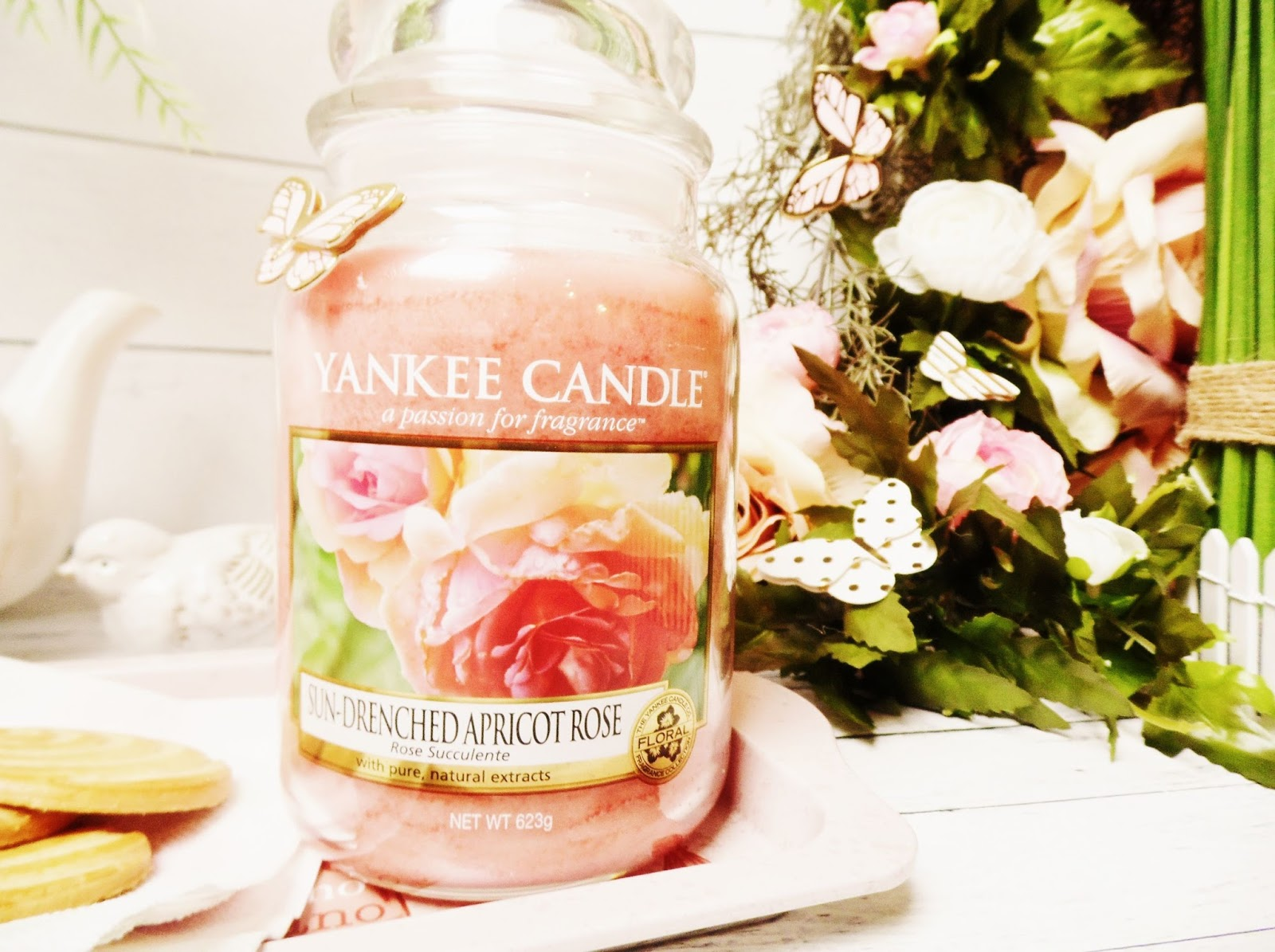 Recenzja Sun Drenched Apricot Rose Yankee Candle