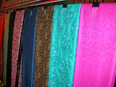 pahmina shawl shopping