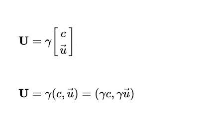 Cuadrivelocidad en Relatividad Especial