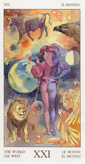 Meditación 1 con Tarot: El Mundo
