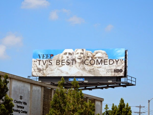 Veep Emmy 2015 billboard