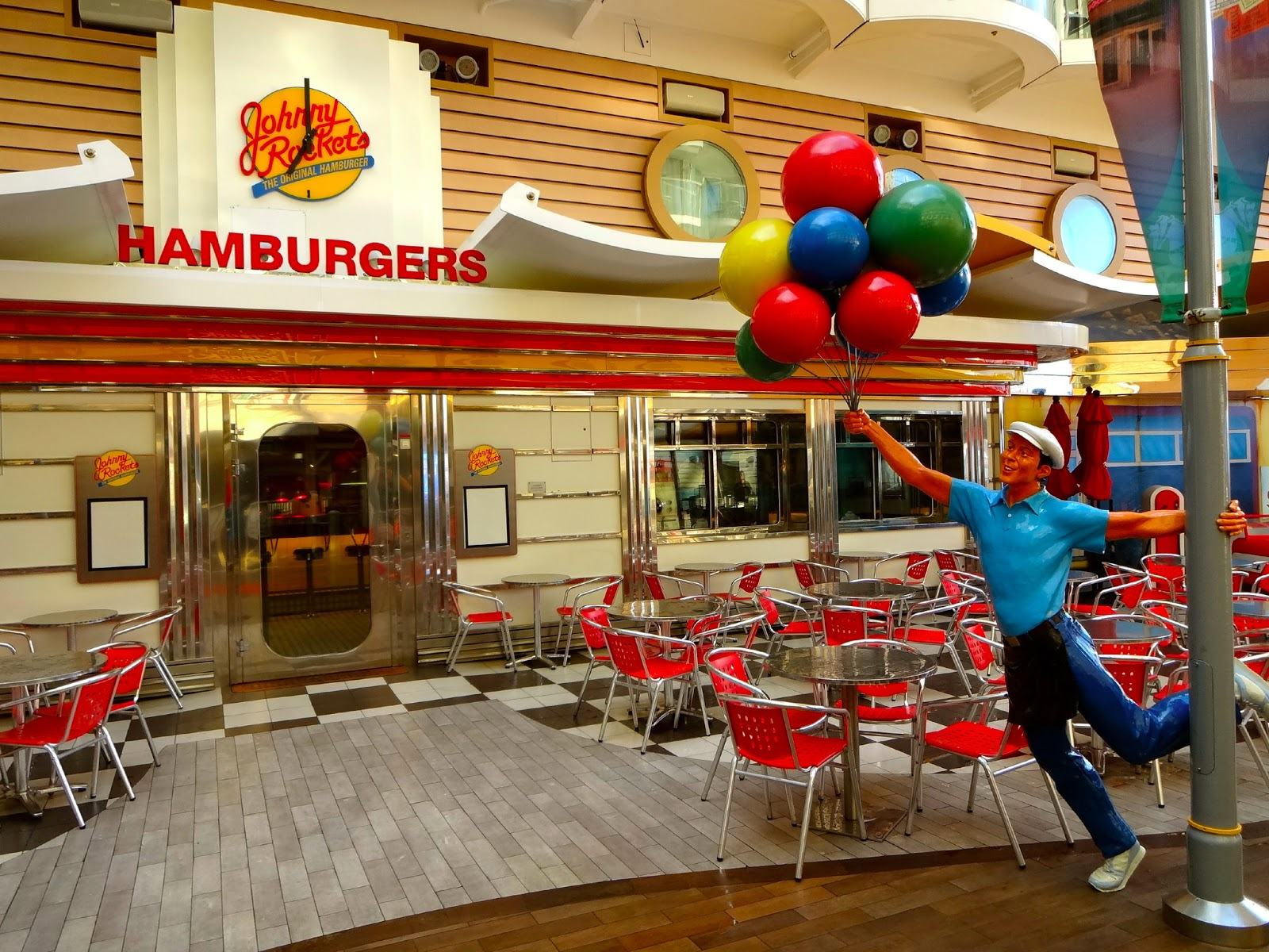 Johnny Rockets Oasis Of The Seas
