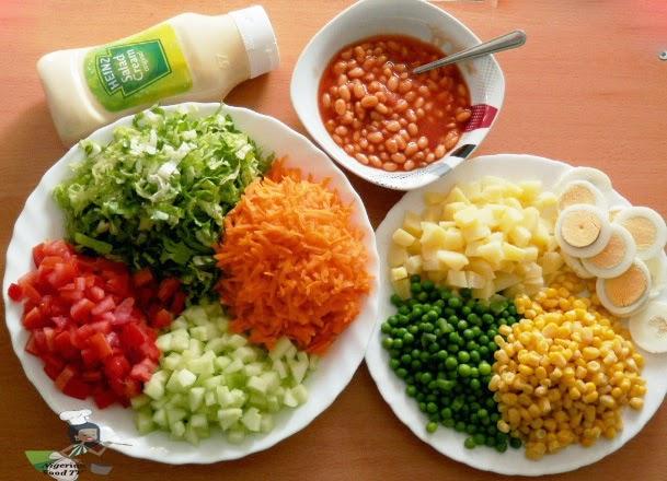Nigerian Salad, Nigerian Salad recipe, nigerian food recipe, nigerian food, nigerian food tv